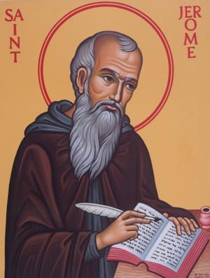 More Saint Jerome images: