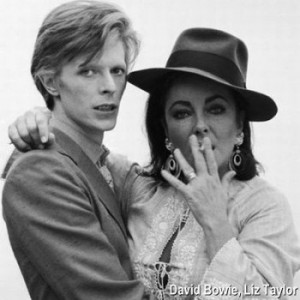 david bowie and elizabeth taylor publicity stills david bowie and ...