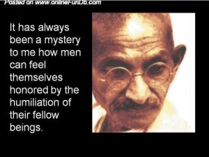 Mahatma Gandhi's WISE Sayings