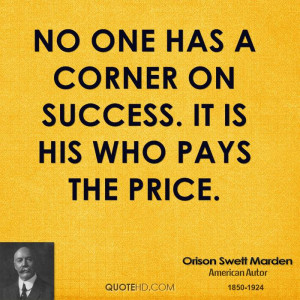 Orison Swett Marden Success Quotes