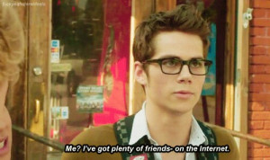 funny, glasses, quote, dylan o brien, cute nerd