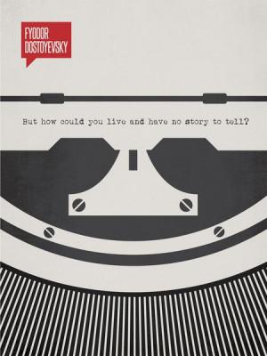 Fyodor Dostoyevsky Minimalist Poster Quote