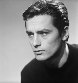 Alain Delon Young
