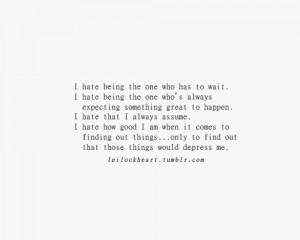 Me Myself And I Quotes Tumblr Me, myself and i