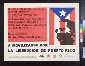 movilizarse por la liberacion de Puerto Rico