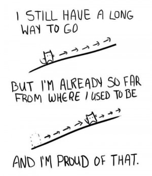 Monday Motivation: Be Proud of How Far You've Come