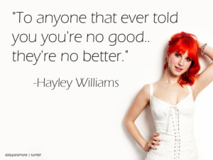 hayley williams, my idol, paramore, quote, text