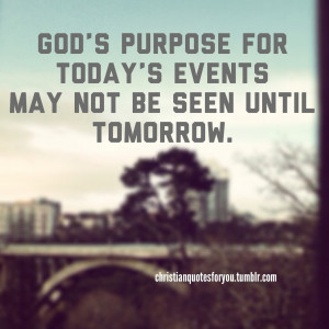 Gods purpose