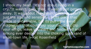 Top Quotes About Small Town Life