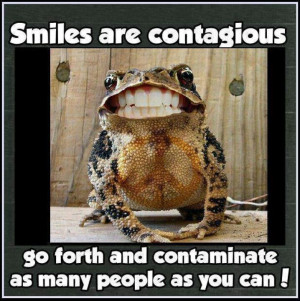 Keep on smiling :) #frog #teeth #funny
