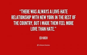 quotes about love and hate relationships