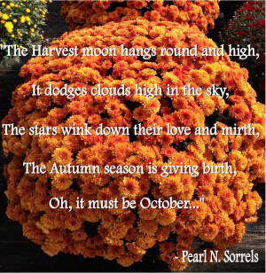 Gardening qoutes for October
