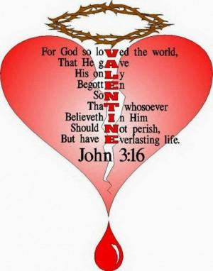 Christian Valentine Bible Verse, Gods Love