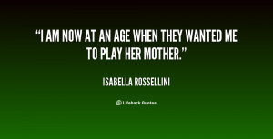 Quotes by Isabella Rossellini