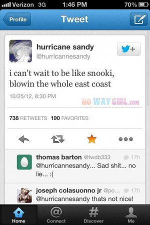Return to Funny Hurricane Sandy Pictures – 18 Pics