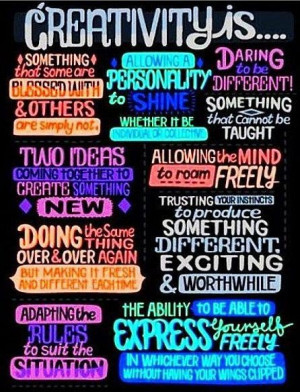 What is creativity quotes