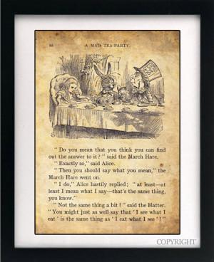 Alice Wonderland Mad Hatter