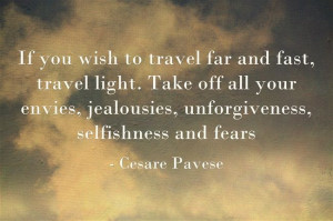 Travel Quote by Cesare Pavese