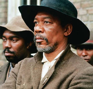 Still of Morgan Freeman in Glory (1989)