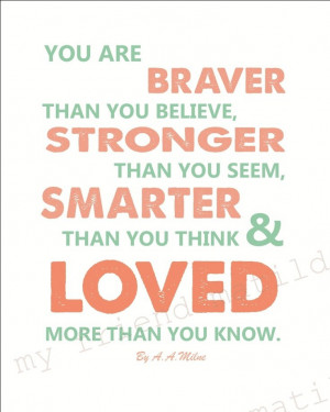 ... -stronger-than-you-a-a-milne-childrens-babies-quote-poster-print Like