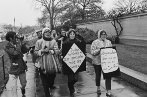 Women's Rights Marchers, 1969