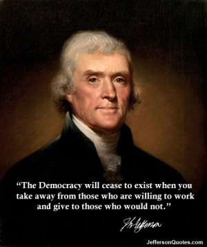The Democracy Will Cease...