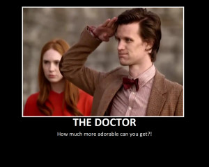 Doctor Who Motivational Poster by SilverLilly333