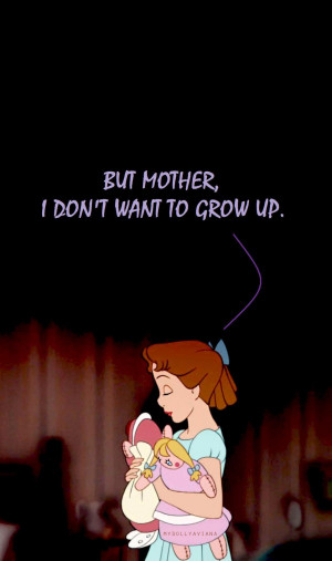 Cute Peter Pan And Wendy Quotes ~ Peter Pan Quote Wallpaper - Viewing ...