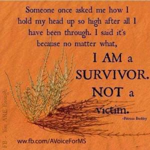 ... victimhood,