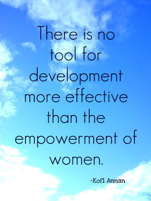 Empowering Women Quote