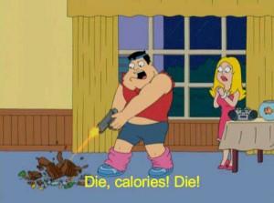 American Dad - funny diet meme