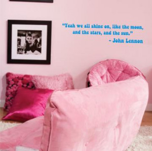JOHN LENNON QUOTE decal sticker wall the beatles i