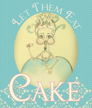 Check out my newest addition to my shop! Marie Antoinette Illustration ...