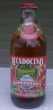 Mendocino Mineral Juice Pepperberry