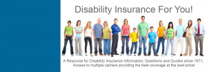 Disability Insurance For You!