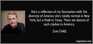 She's a reflection of my fascination with the diversity of America she ...