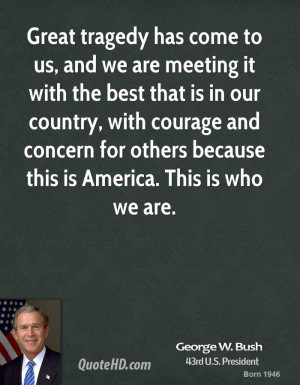 George Bush Quotes About 9 11