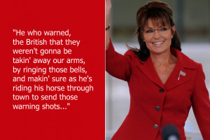 Walking punchline Sarah Palin once used all these words (many of them ...