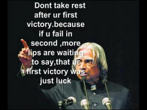 Abdul kalam Quotes With Image !!