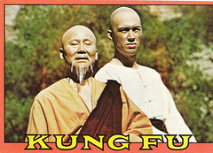 Kung Fu trading Card (Sean Castor) Tags: david grasshopper carradine ...