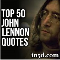 Top 50 John Lennon Quotes | In5d.com