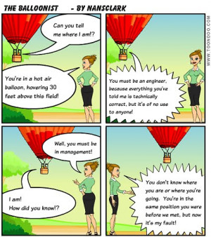 ... engineer joke what happens when a lost balloonist asks an engineer