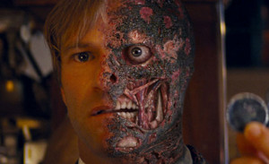Two-Face Rises? Aaron Eckhart Is Just Messing With Us Now, Right?