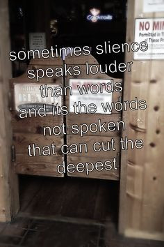 Silence Speaks Louder Than Words Quotes, Quotations & Sayings 2018