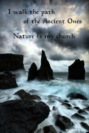 Nature is my church! #quotes