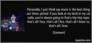Best Rap Quotes About Love