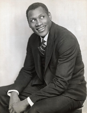 Paul Robeson (April 9, 1898 – January 23, 1976)