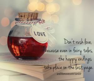 fairy tale love quote