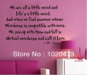 ... -All-A-Little-Weird-Wall-Decal-Quotes-Removable-Cheap-Wall-Decals.jpg