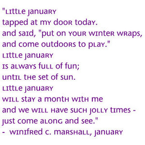 January 2012 Month Jan New Year Poem Saying Quote Text Filler Backgrou